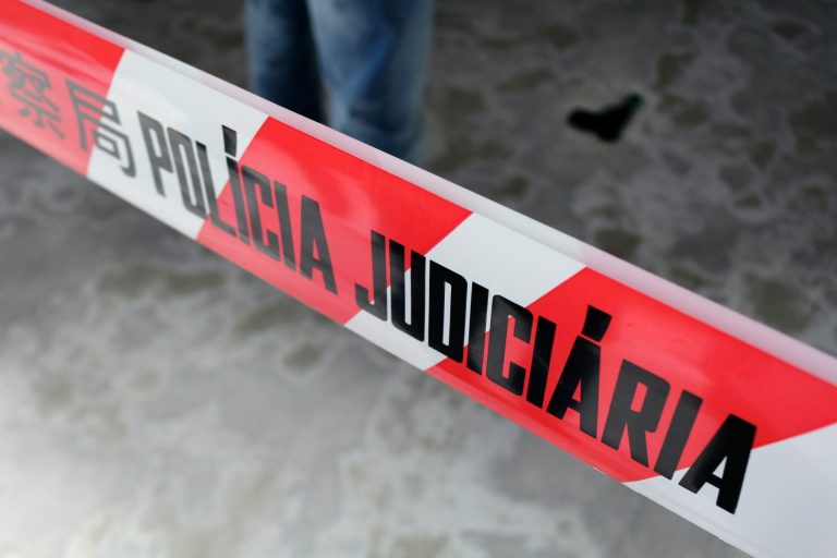 Macau crime scene tape