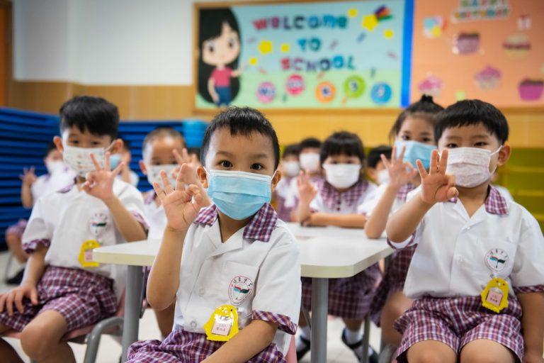 Macau kindergarten students