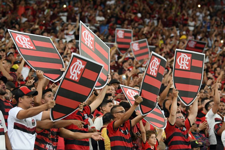 Flamengo football supporters