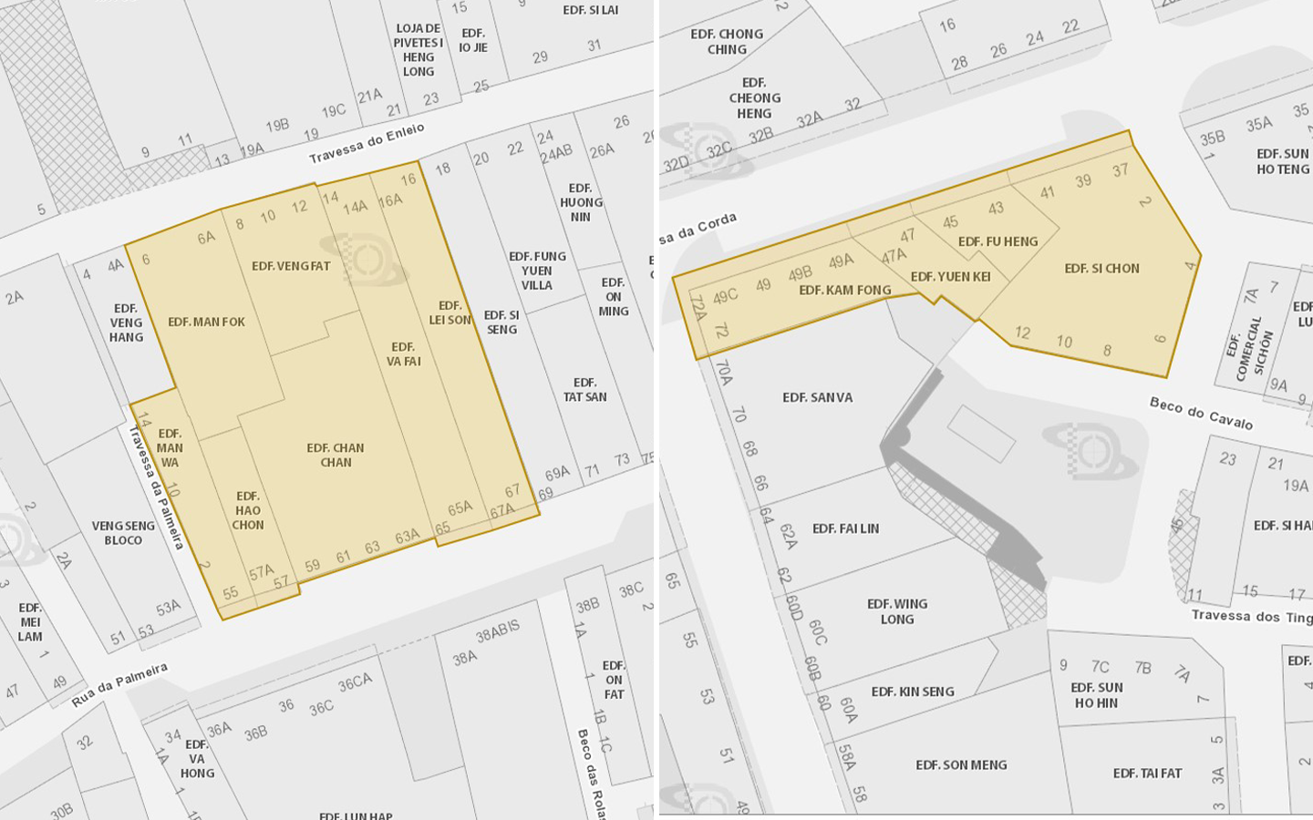 Macau 69th and 70th cases yellow code zone