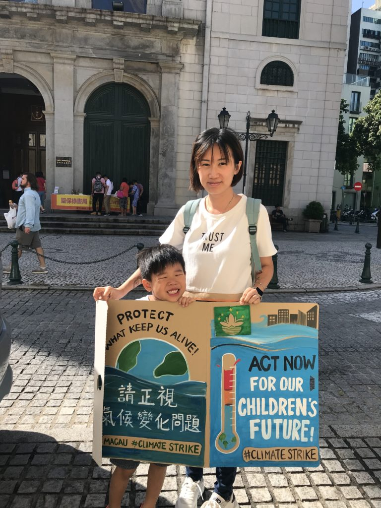Benvinda Santos, Macao-based environmental activist who started the 'Macau for Waste Reduction'