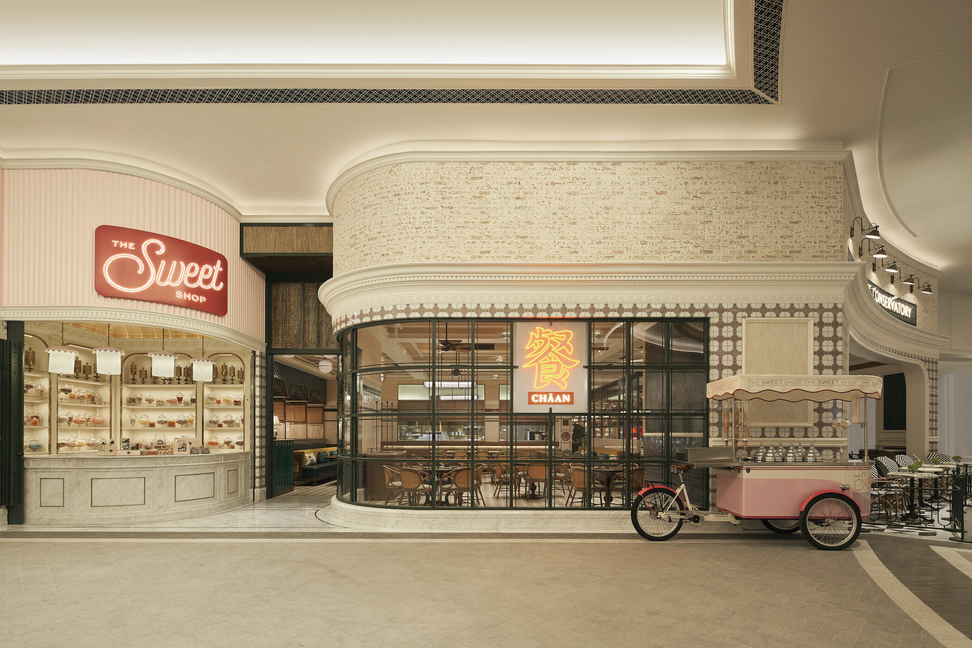 The Conservatory - The Sweet Shop and Chaan