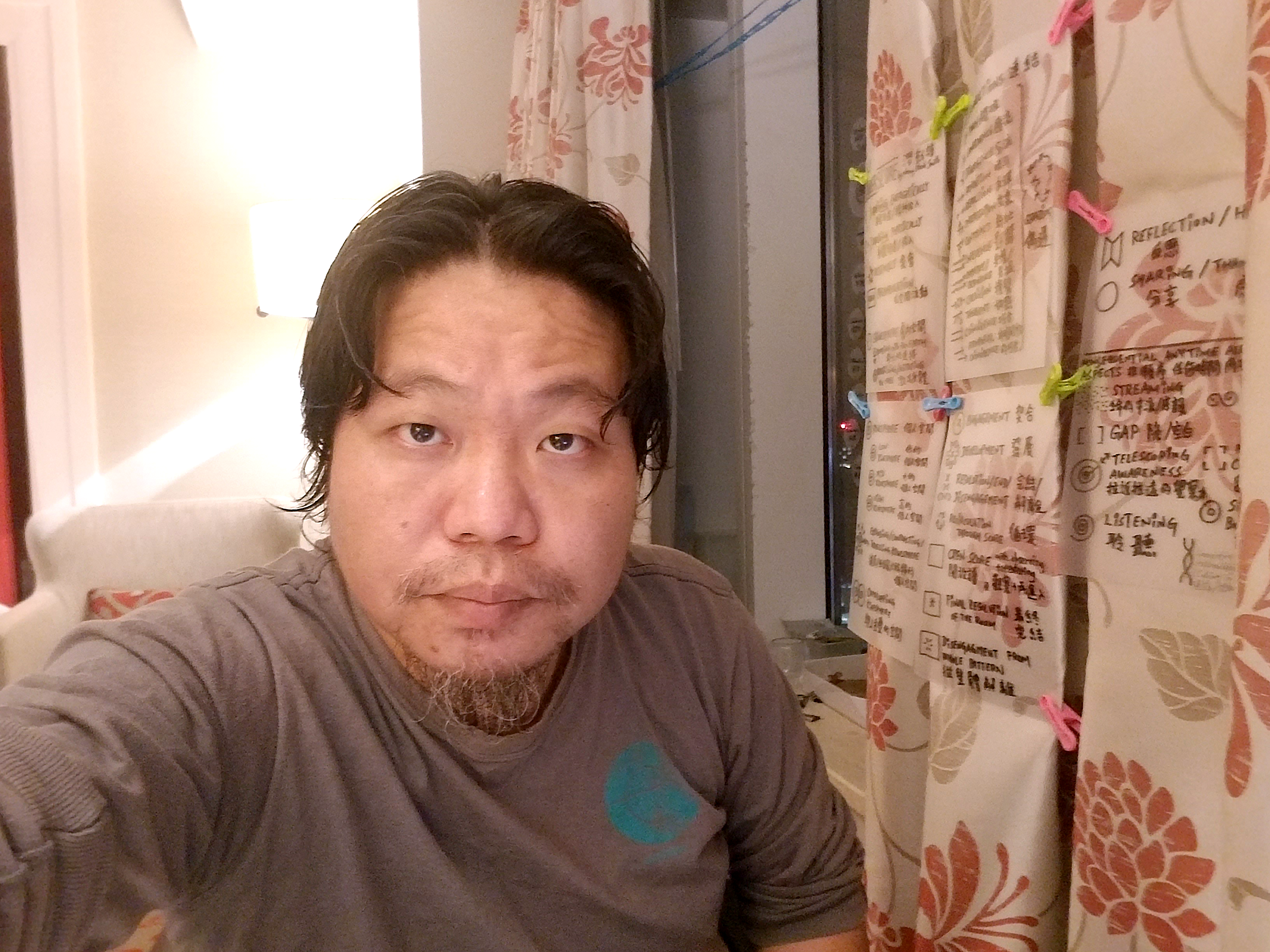 Yuenjie Maru found ways to stay occupied and productive during his hotel quarantine