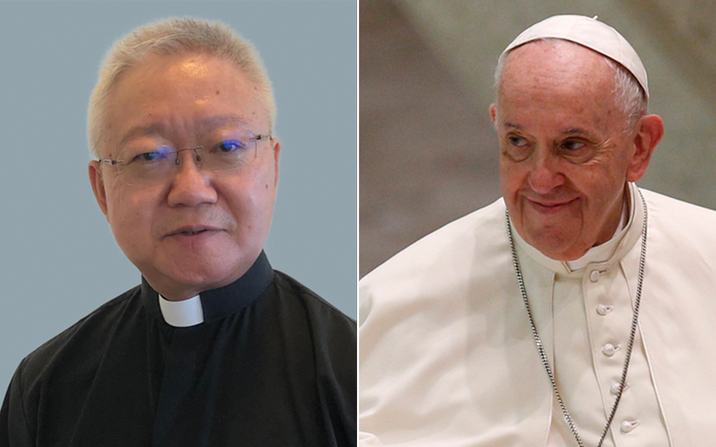 Arturo Sosa Father Stephen Tong and Pope Francis