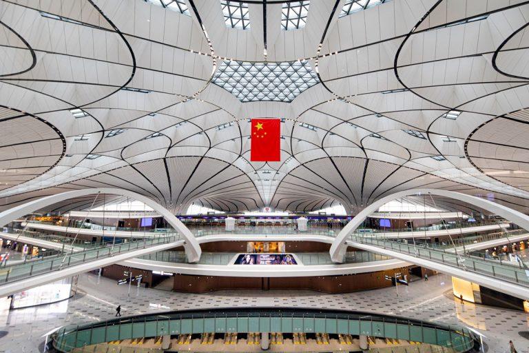 Beijing Daxing International Airport in China